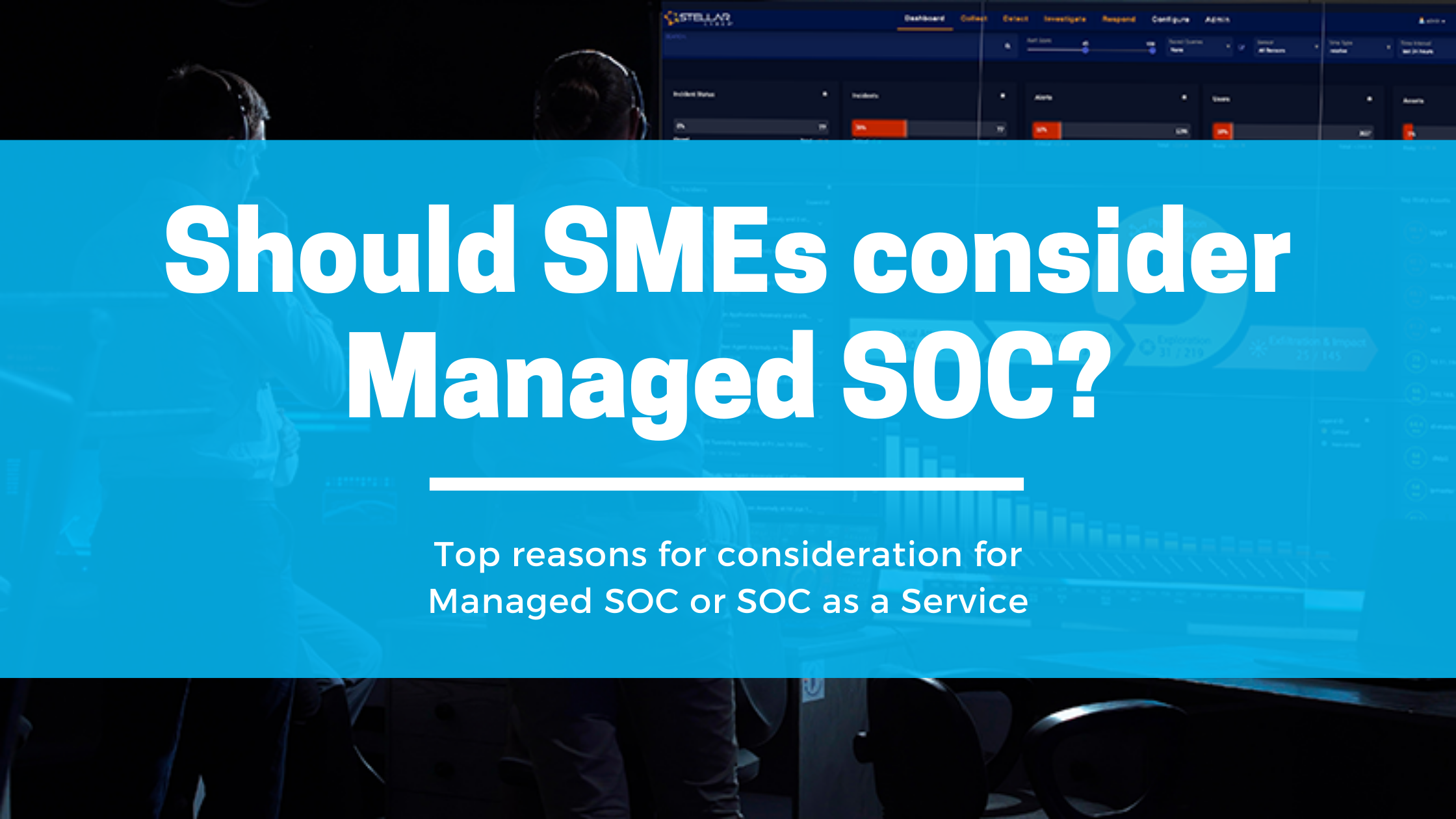 Should SMEs consider SOC as a Service?